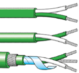 PVC type k thermocouple cables