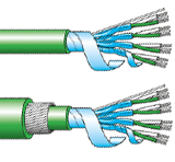 type k thermocouple PVC multipair cables