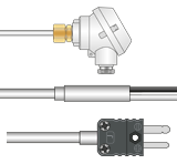 Type J Thermocouples with Mineral Insulation